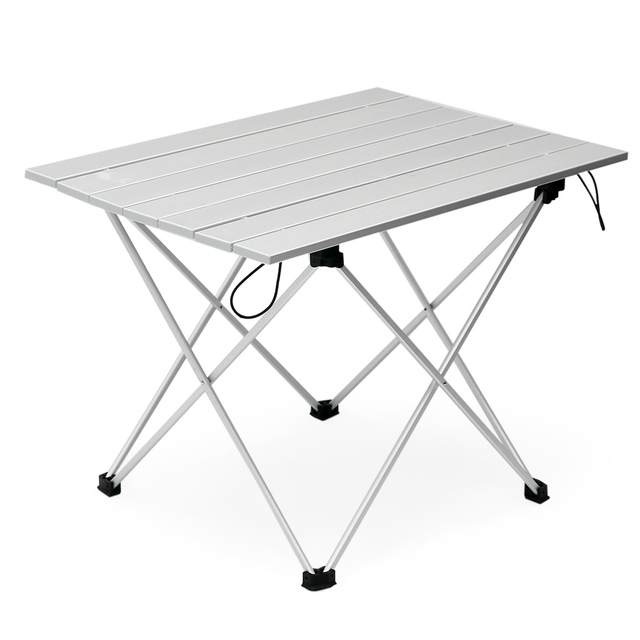 Fine Us 24 8 47 Off Aluminum Folding Table Collapsible Camping Table With Carrying Bag Outdoor Indoor Picnic Table For Beach Hiking Travel Fishing In Download Free Architecture Designs Scobabritishbridgeorg