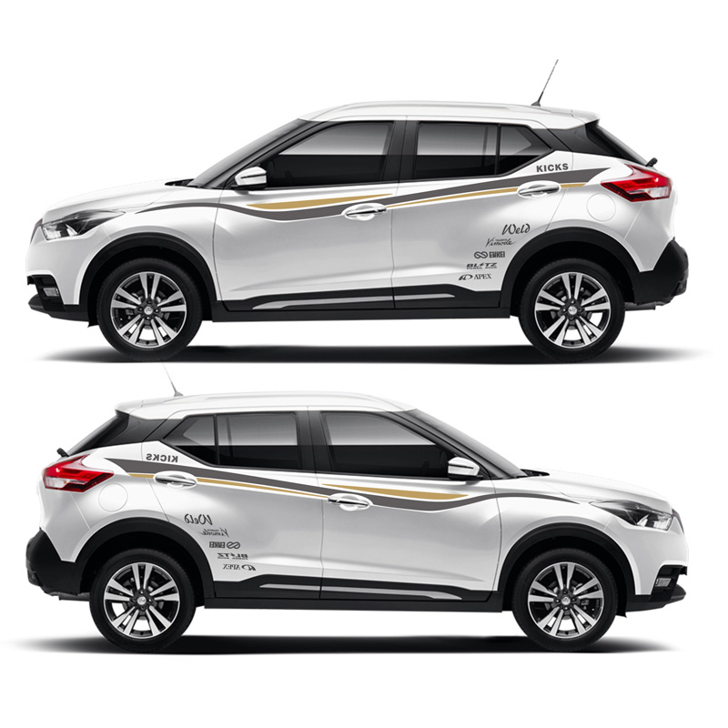 TAIYAO car styling sport car sticker For Nissan KICKS SPORT  Mark Levinson car accessories and decals auto sticker