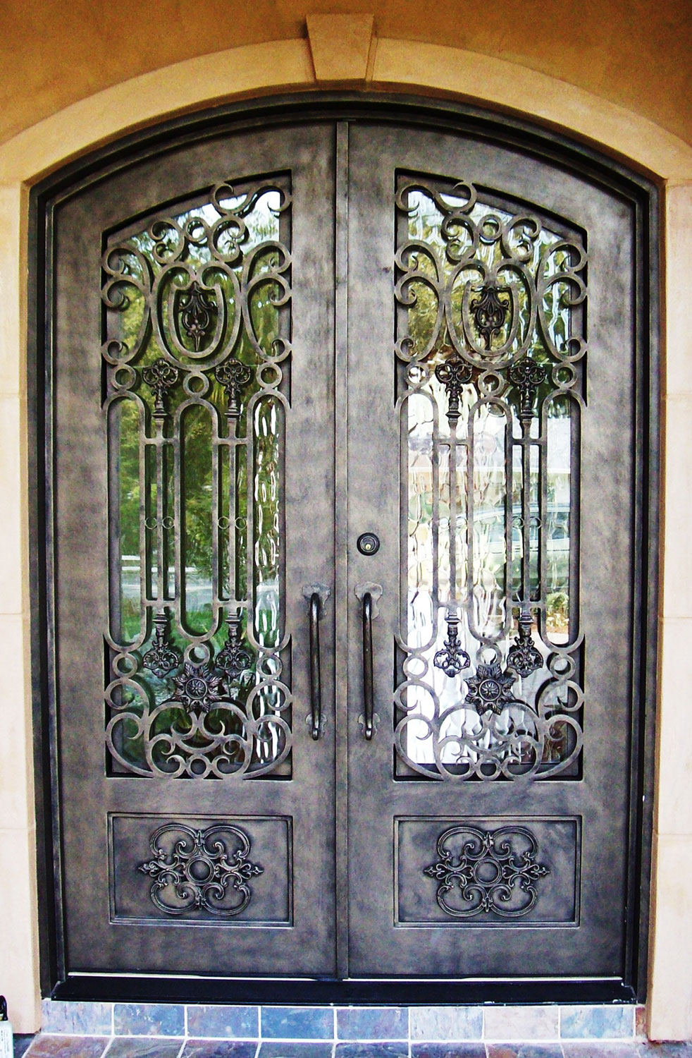Hench 100% Steel Metal Iron Wrought Iron Doors Miami