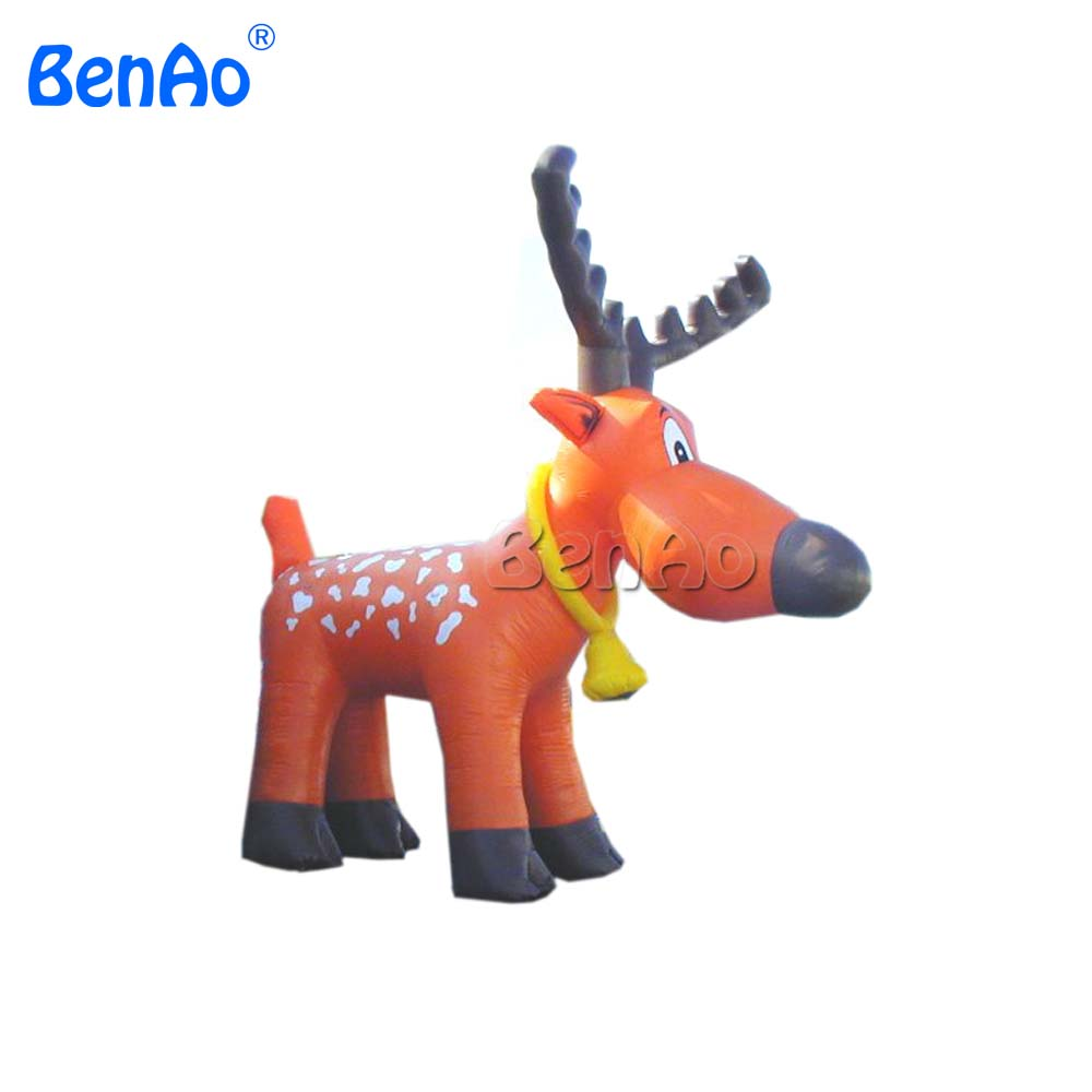 X050 10mH 33' Huge Outdoor Christmas Decoration Inflatable Christmas Reindeer,for Christmas event,party decoration