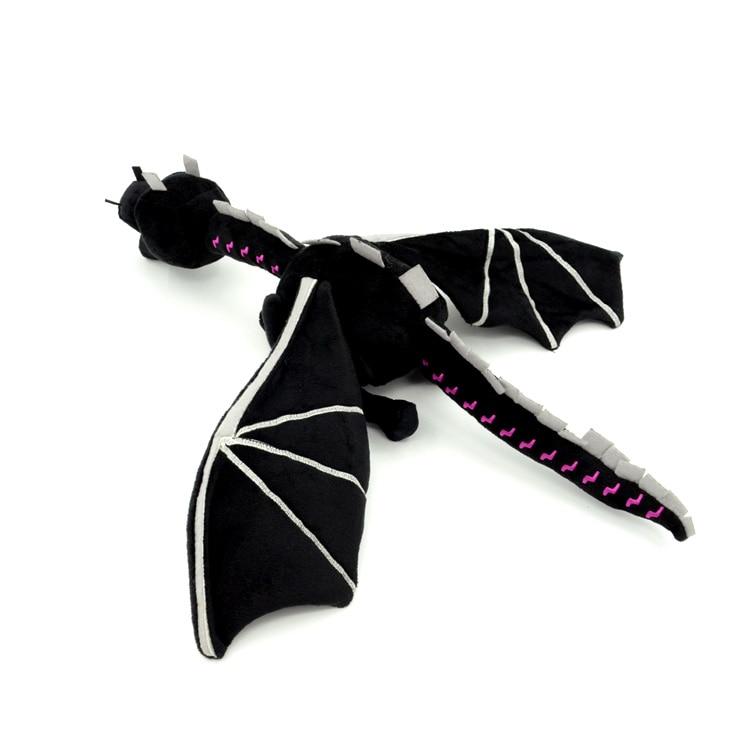 60cm Thin Ender Dragon Plush Toys Soft PP Cotton Stuffed EnderDragon Dinosaur Kids Cartoon Game Toy Gift Free Shipping