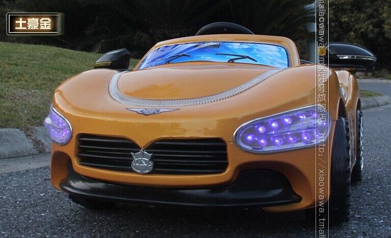 En solde!!! Hot-vente Maserati Enfants Voiture Électrique Tour Sur avec Télécommande et Phare Bleu - 4