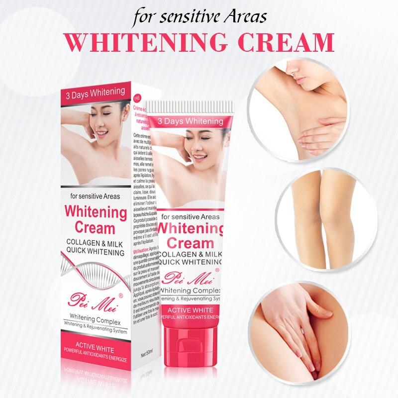 Underarm Whitening Cream Armpit Lightening Cream Body Blench Whitening Skin Moisturizing Repair Cream For Knees Legs Skin (3)