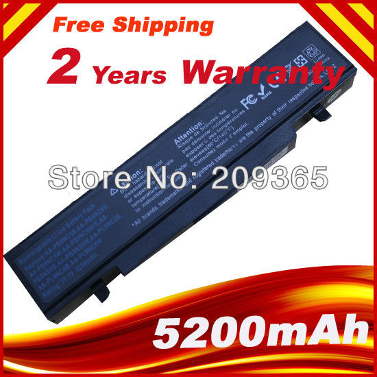 Laptop Battery For SAMSUNG RV408 RV410 RV508 RV510 RV511 RV515 RF410 RF510 Battery AA-PB9NC6B