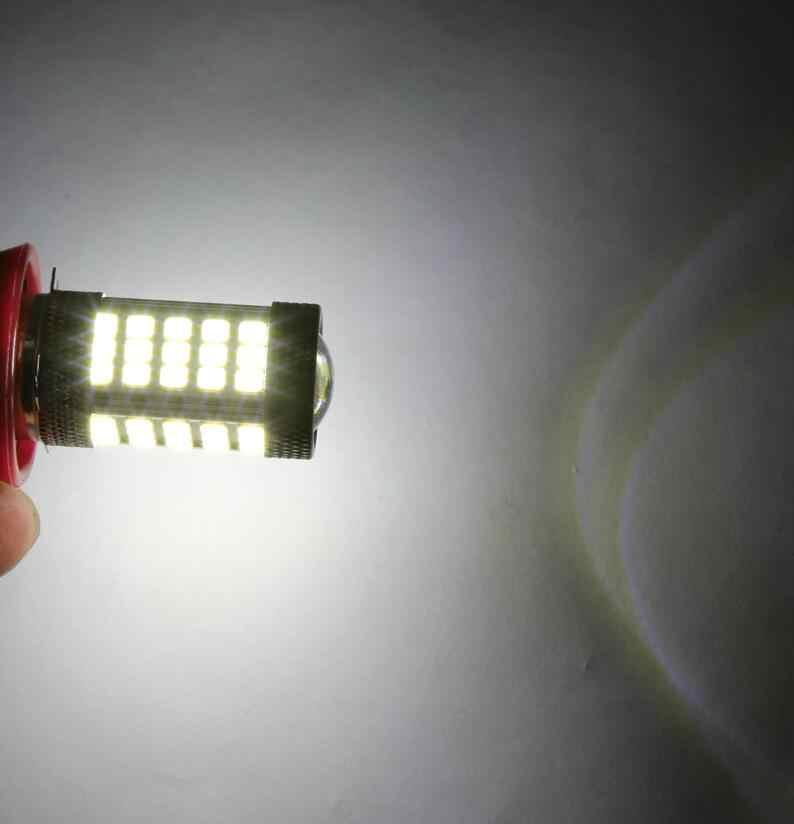 H11 2835 63 SMD LED 6000K Car Auto Projector Fog Driving Light Bulb White Car Light Source 12V Bright Than 33SMD