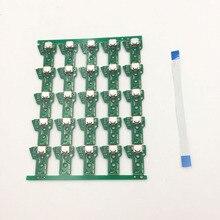 25 conjuntos jds 050 001 011 030 040 porta usb tomada carregador placa cabo de fita flexível para ps4 pro jds055
