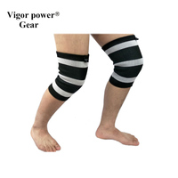 Vigor Power Gear dual ply elbow sleeves 5mm knee sleeves for weight lifting dual ply elbow sleeves for strength crossfit