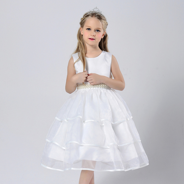 White holy first communion dresses 2017 pink princess flower girl white holy first communion dresses 2017 pink princess flower girl dresses for little girls kids party mightylinksfo