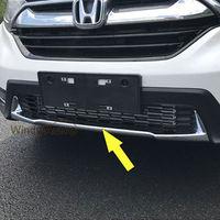 Подходит для Honda CRV CR V 2017 2018 спереди гриль бампера отделка протектор Chrome