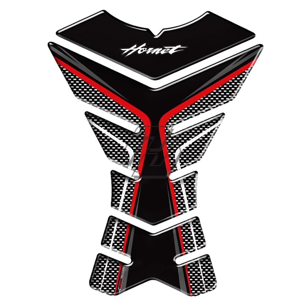3d Carbon-look Motorrad Tank Pad Protector Aufkleber Aufkleber Fall Für Honda Hornet Cb600f Cb650f Cb250 Cb1000r PüNktliches Timing