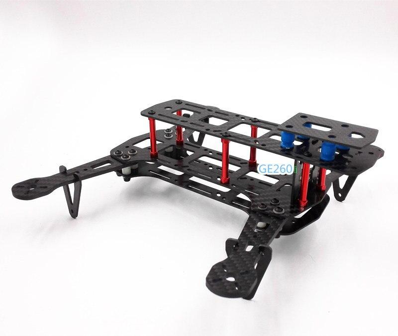 DIY GE260 race quadcopter frame unassembled 260mm Wheelbase carbon ...