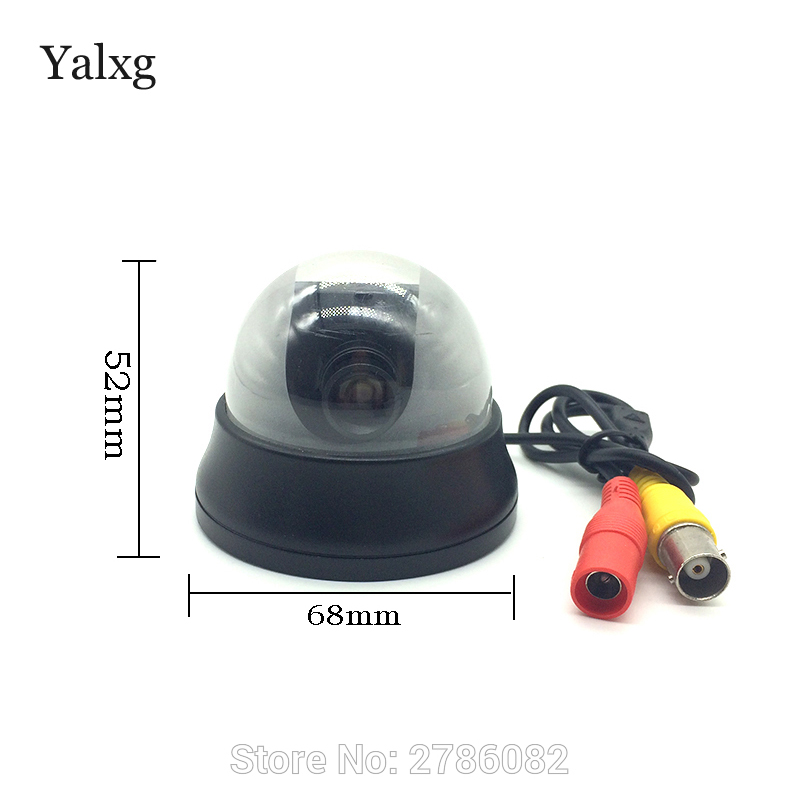 Alarm Systems Security Home mini CCTV 1/3 CCD 480 TV Lines 1.7-3.6mm HD Focus Lens Analog Digital Video Camera Support Dvr