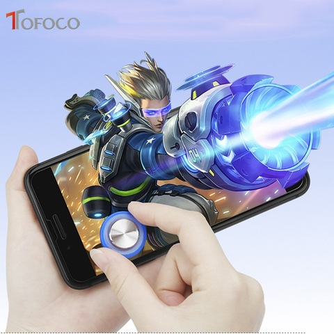 Round Game Joystick Mobile Phone Rocker For Iphone Android Tablet Metal Button Controller For PUBG Controller With Suction Cup Islamabad
