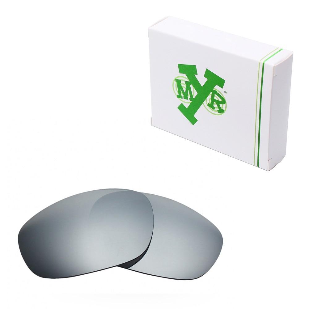 5376f29b4b Mryok POLARIZED Replacement Lenses for Oakley Big Square Wire Sunglasses  Silver Titanium