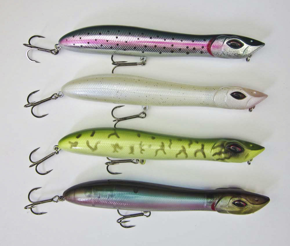 Buy fishing topwater popper bait snake for Snake fishing lure