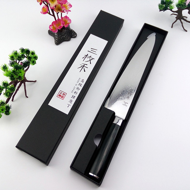 2016 LD 8 inch chef font b knives b font high quality fashion Japanese VG10 Damascus