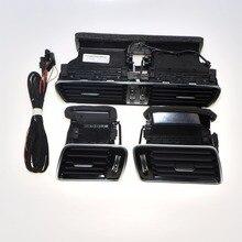 LHD приборной панели автомобиля кондиционер отверстия + жгута проводов разъем для VW R36 CC Passat B6 B7 3AD 819 728 3AD 819 701