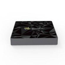 GT1 Ultimate Android 7,1 Smart TV Box 3G 8 core DDR4 + 32G set top caja compatible con la actualización en línea de OTA