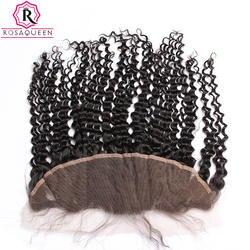 Dolago 13x4 кружева Фронтальная застежка с ребенком волосы бразильский странный вьющиеся Волосы remy натуральный черный 100% человеческих волос