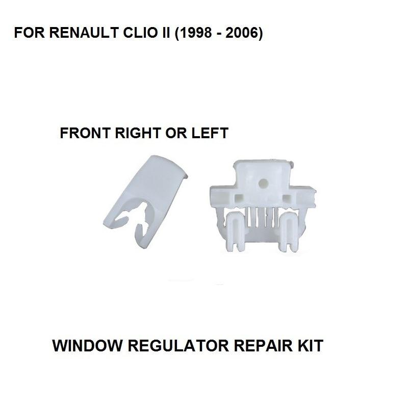 1998-2006 WINDOW REGULATOR COMPLETE CLIP FOR RENAULT CLIO II WINDOW REGULATOR REPAIR CLIP FRONT LEFT OR RIGHT SIDE