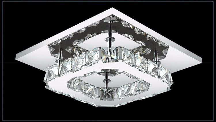 Современные белые хрустальные потолочные лампы K9, светодиодный потолочный светильник высокой мощности для гостиной, светодиодный потолочный светильник, потолочный светильник s