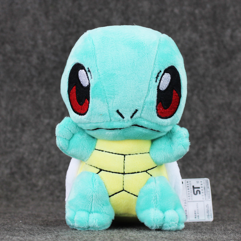 NEW 1Pcs 15 5cm Anime Cartoon Squirtle Plush Toy Dolls Stuffed Soft Animal Toy Great Gift