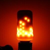 Nueva Llegada de Halloween Decoración Del Hogar 5 W 2835 SMD 99 LED Bombilla de La Lámpara E27 Llama Parpadeo/Respiración/General modos de Luces LED Bombilla