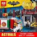 Nueva Lepin 07057 Genuino Serie Movie El Espantapájaros de Entrega de Pizza Set de Vagones 70910 Bloques de Construcción Ladrillos de Juguetes Educativos