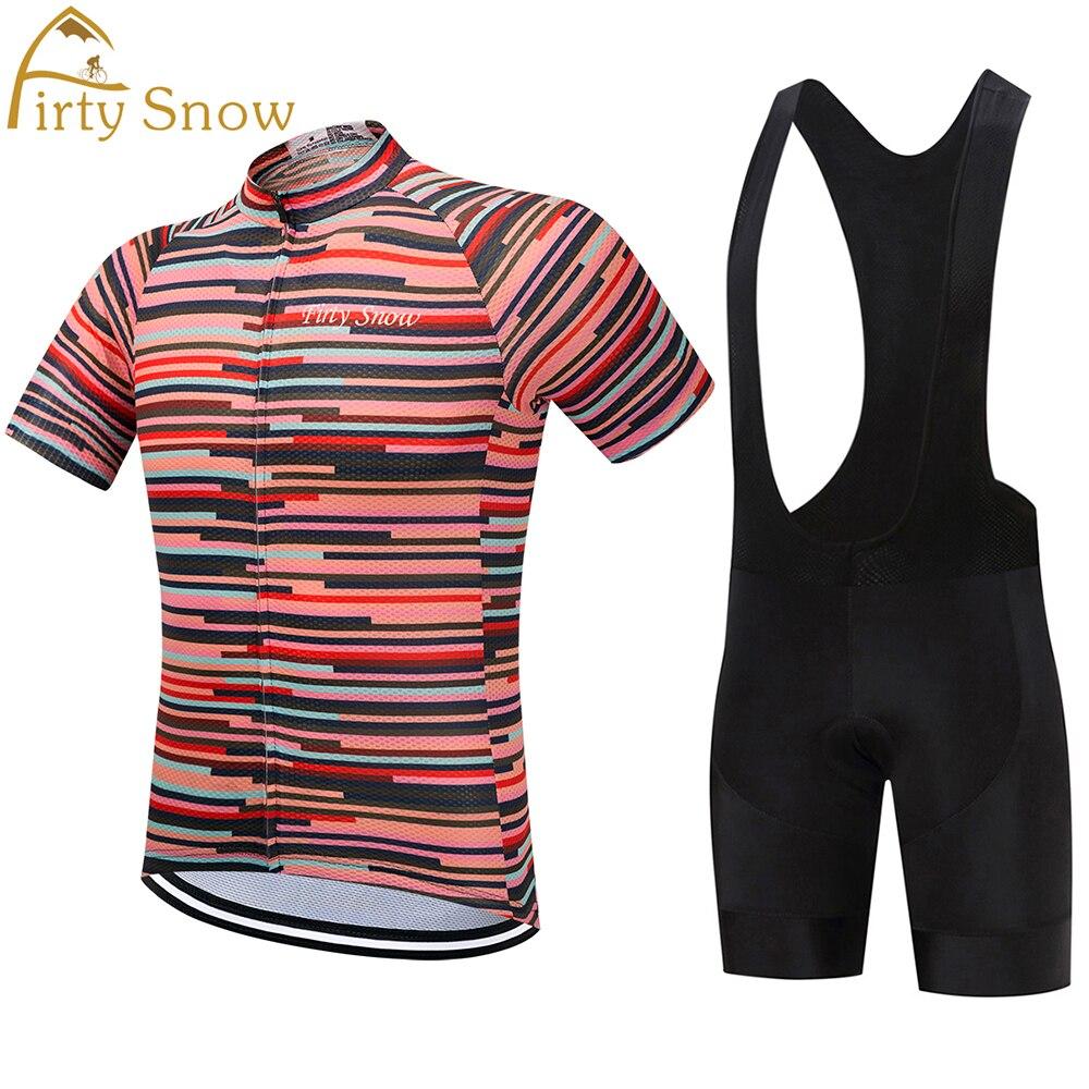 Firty SnowMEN 2018 cycling jersey green bike clothing new road gel pad la ropa ciclismo pro team racing riding summer custom