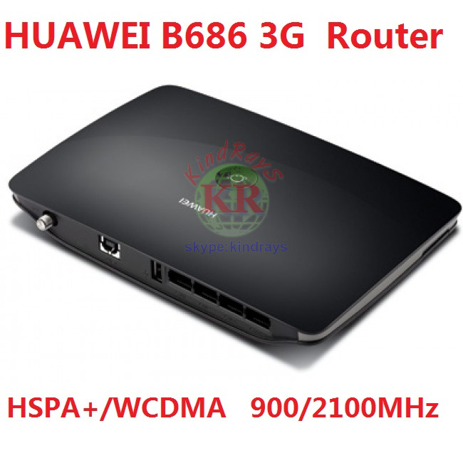 Unlocked Huawei B686 Wi-Fi Asccess Point 802.11n 4xLAN 3G wifi router with SIM card slot pk b683 b525