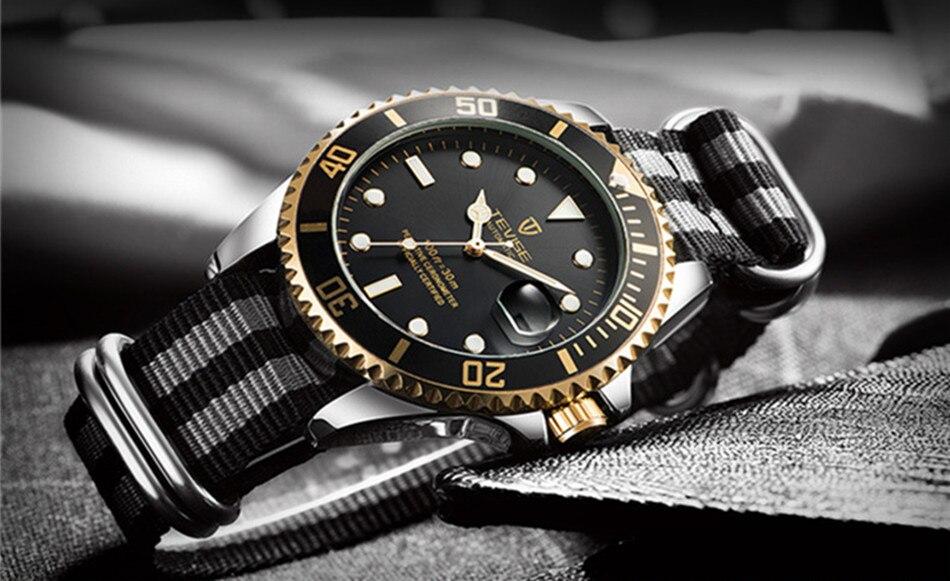 HTB175V5KruWBuNjSszgq6z8jVXaQ Tevise Luxury Waterproof Automatic Men Mechanical Watch Auto Date Full Steel Business Top Brand Man Watches Water Resistant T801