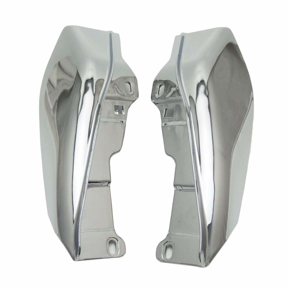 New Air Deflector Trims for Harley Touring Road King Street Glide FLHX Electra Glide 2009 2010 2011 12 13 14 15 2016 abs hard saddlebags latch keys for harley road king electra street glide 14 18