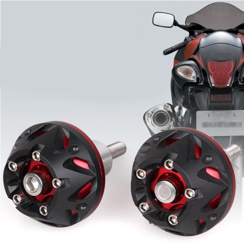 New Red Motorcycle Frame Sliders Anti Crash Pads Falling Protection for Yamaha FZ6 2004 - 2009