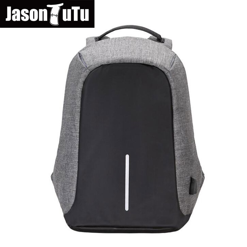 2017 new 16inch Men Laptop Backpacks Multifunction USB Charge Computer Backpacks Fashion Male Anti-theft Backpack Bags Mochila