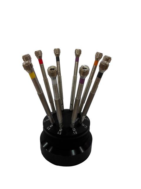 Full Metal de alta Calidad 10 unids Reloj de Destornilladores para Relojeros y Reparación de Relojes