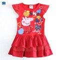 Novatx tutu da menina de flor de verão vestido polka dot moda infantil vestidos para vestidos de festa menina crianças causais roupas H5415