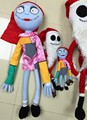 Big size The nightmare before christmas Jack Sally Action figure plush doll.70cm styles Christmas Jack Stuffed doll kid gift toy