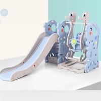 Dzieci slajdów kryty dziecko domu wielofunkcyjny slajdów dziecko połączenie slajdów huśtawka plastikowe zabawki zagęszczony|Plac zabaw|Sport i rozrywka -