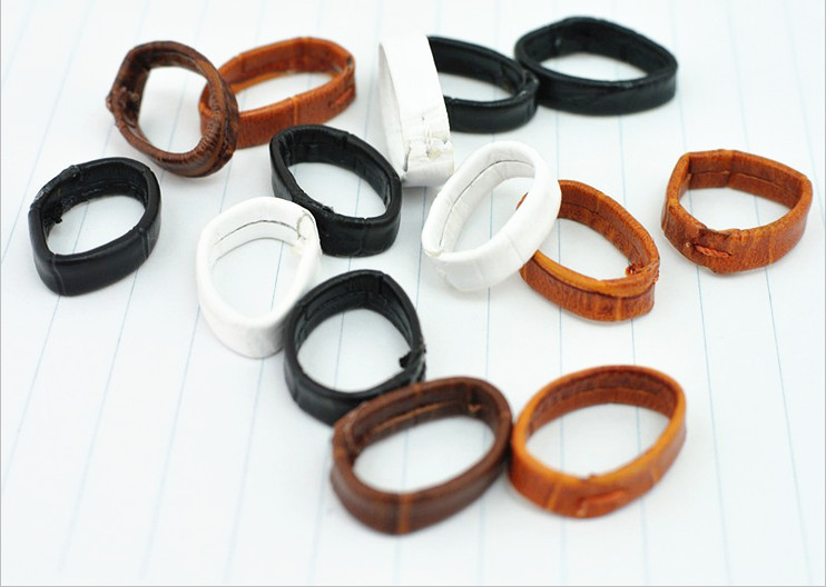 Wholesale 80PCS / lot 14mm,16mm,18mm,19mm,20mm,21mm,22mm,24mm genuine leather Watch band ring part watch strap ring parts -WBR01 ангельские глазки 80 mm