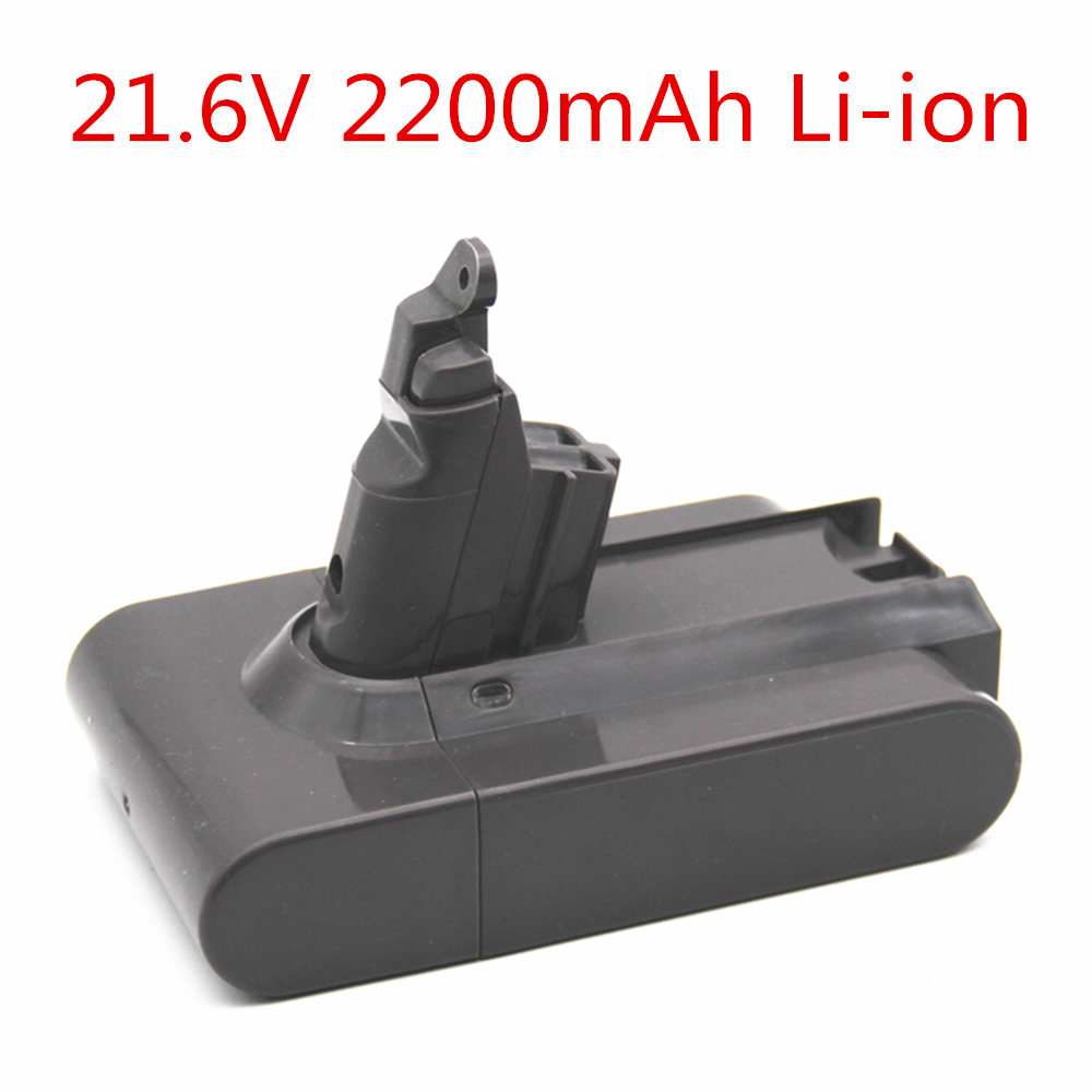 21 6V 2200mAh Replacement Battery for Dyson Li ion Vacuum Cleaner DC58 DC61 DC62 V6 965874