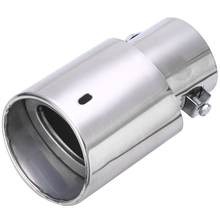 Car Exhaust Tail Pipe 1pcs Universal Rear Round Stainless Steel Muffler Tip High Quality