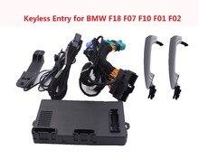 Удаленный БЕСКЛЮЧЕВОЙ ввод Системы Автосигнализация Центральный замок комплект с окном Roll Up Автомобильный Дверной замок для BMW автомобиля F18 F07 F10 F01 F02