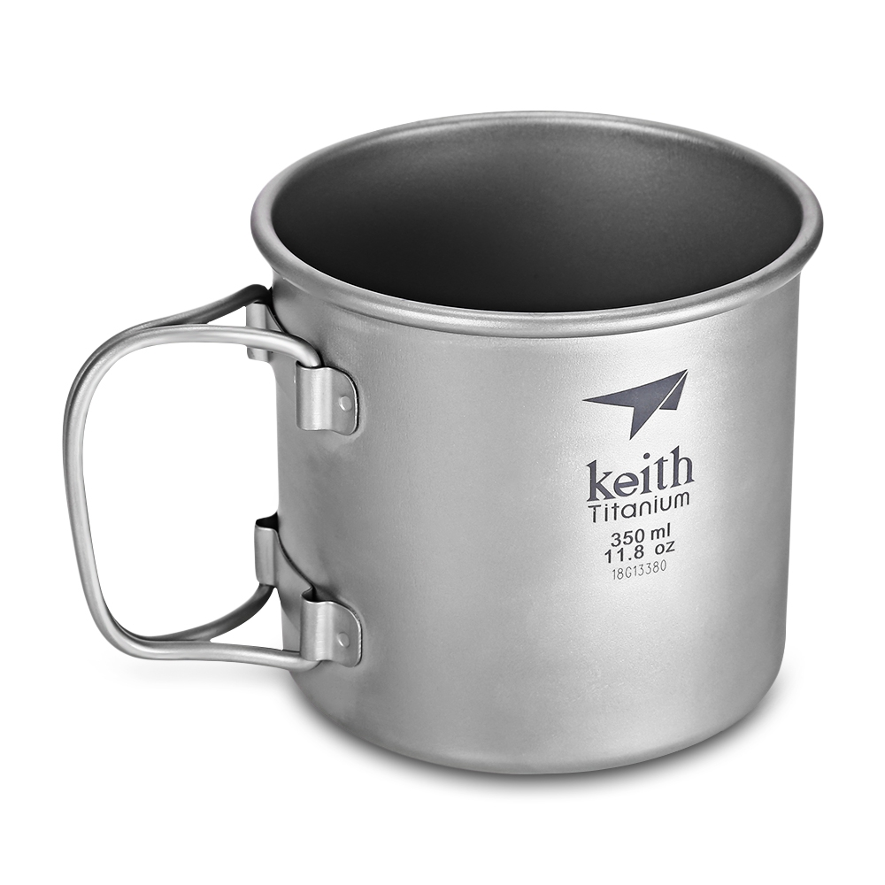 3500ml titanium Outdoor Tableware set Camping cup bottle Foldable Pot Kettle super light weight Tea Kettle Coffee Pot