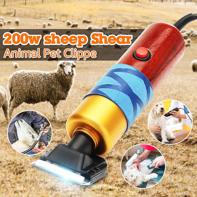 200w Electric Shearing Horse Sheep Shear Animal Pet Grooming Clipper Trimmer Clipper Hair Cutting