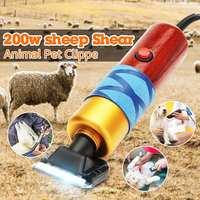 200w Electric Shearing Horse Sheep Shear Animal Pet Grooming Clipper Trimmer Clipper Hair Cutting