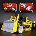 LEPIN 20008 serie técnica contro remoto l el bulldozer Modelo de kits de Montaje de bloques de Construcción Ladrillos Compatible con legoed 42030