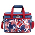British Style Cooler Bag Denim Insulation Bag Lunch bag Thickening lunch bags ice pack