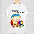 South Park T Shirt nueva York friki divertido diseño de la camiseta Stan Marsh Kenny Diy de dibujos animados manga corta cuello de O Tees
