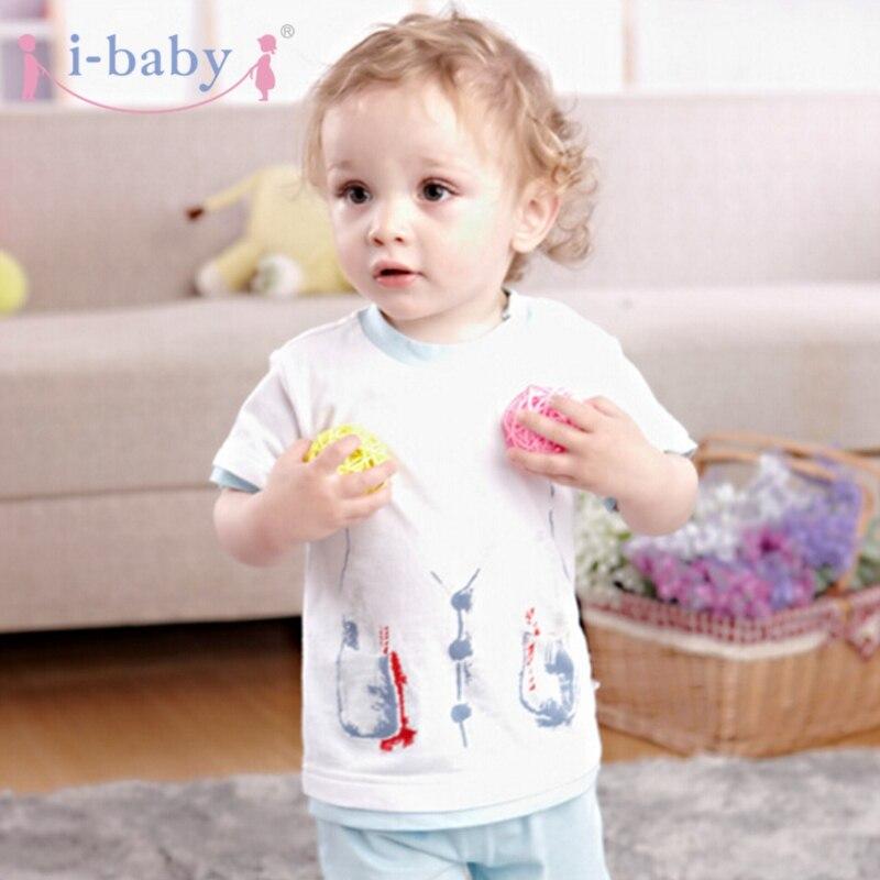 i-baby baba ruhák újszülött csecsemő póló fiú lány 100% - Bébi ruházat