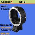 Автофокус AF Адаптер для Canon EOS EF EF-S крепление объектива к Sony E A7 A7R NEX-6
